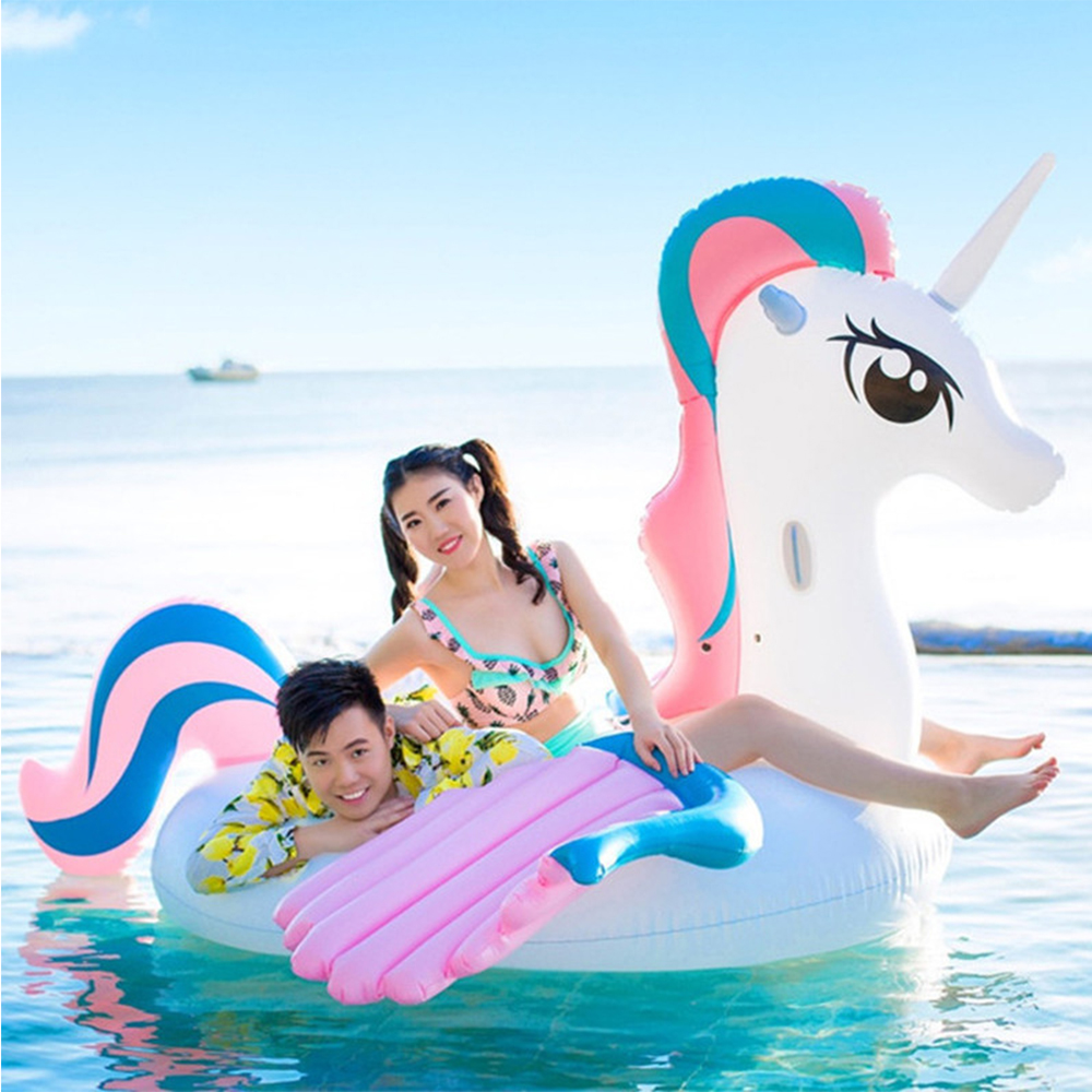 Large inflatable unicorn 265cm swimming pool floating sunbathing swimming mattress water inflatable toy swimming ring party giftLarge inflatable unicorn 265cm swimming pool floating sunbathing swimming mattress water inflatable toy swimming ring party gift