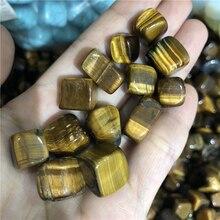 200 г тигровый глаз камень образец куб камни тигровый глаз полишем сушильные камни лечебные кристаллы натуральный камень образец