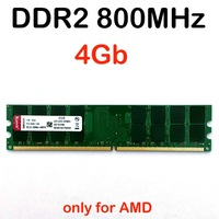RAM DDR2 4Gb 800MHz Ddr2 800 4gb Memory Ddr2 4G Only For AMD Pc2 6400 Memoria