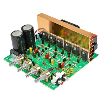 Home Audio Amp | Audio Power Amplifier Board 2.1 Channel 240W High Power Subwoofer Amplifier Board Amp Dual Ac18-24V Home Theater