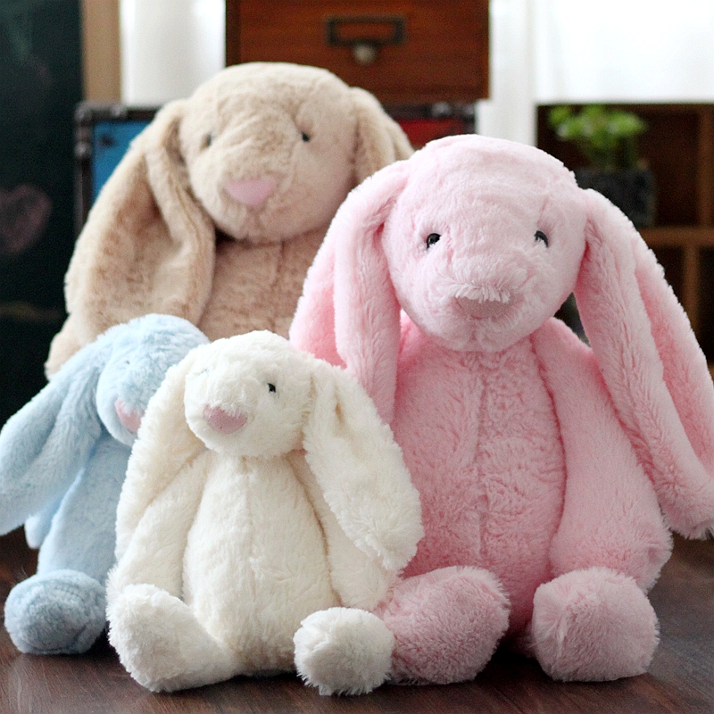 25cm 40cm 60cm Cuddy Bunny 5 Colour Easter Party Festival Event Gifts Cute Rabbit Plush Toys Birthday
