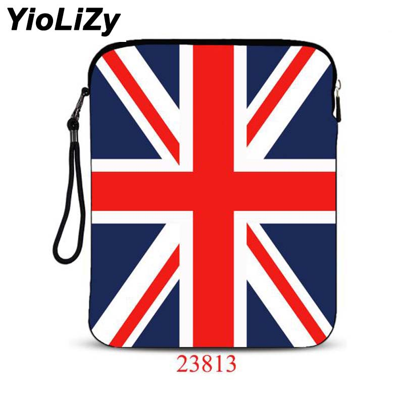 print British flag 9.7 10.1 inch laptop bag Cover Ultra-thin tablet cover notebook sleeve For asus 10 inch tablet case IP-23813