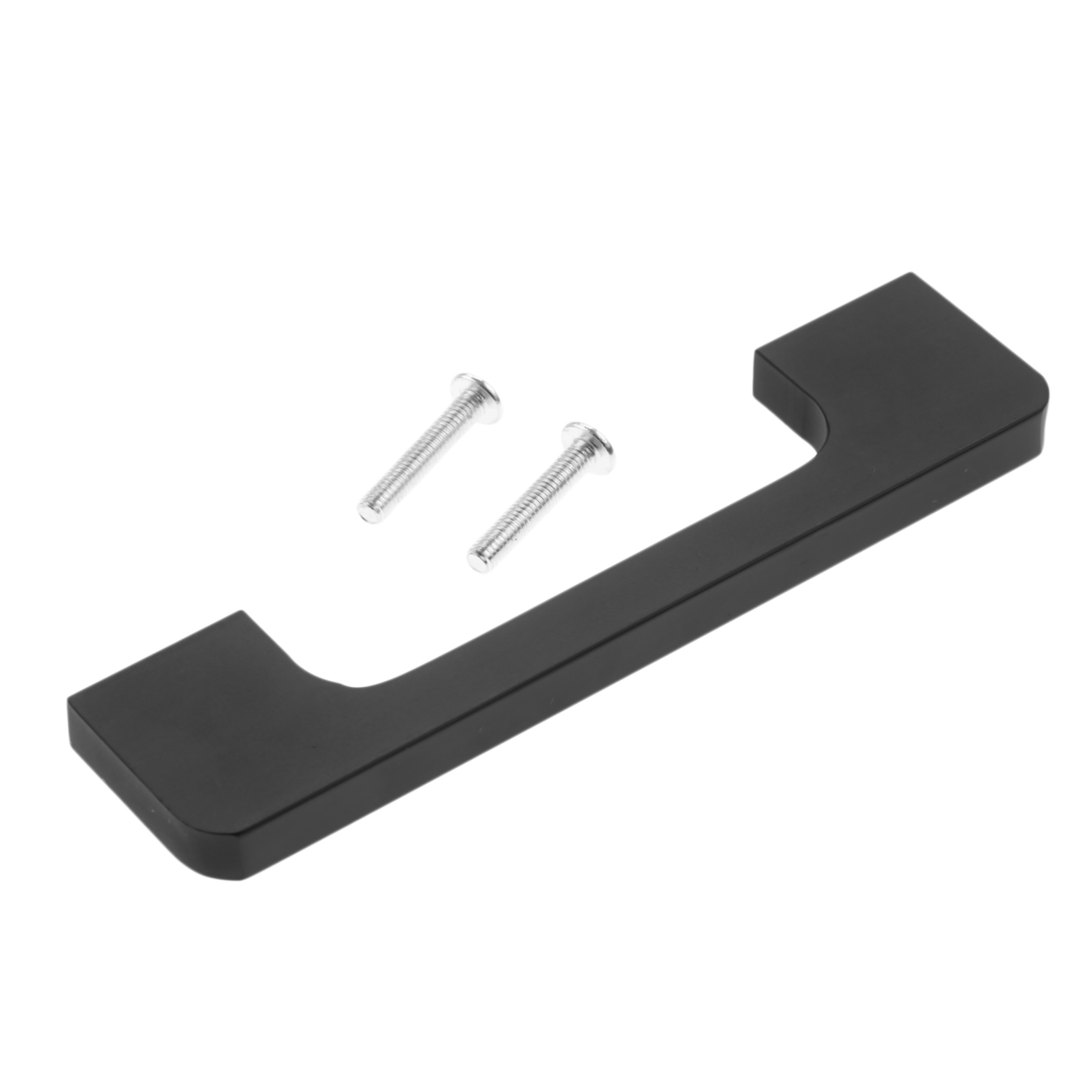 1Pc 96 256mm Black Furniture Handles Wardrobe Door Pull Dresser Drawer Handle Kitchen Cupboard Pulls Cabinet Knobs and Handles in Cabinet Pulls from Home Improvement