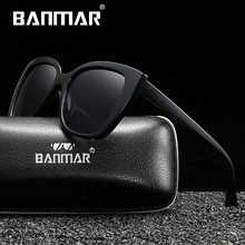 цена на BANMAR Luxury Female Sunglasses Women Oversized Sun Glasses Vintage Outdoor Sunglass Oculos de sol Gafas Eyeglasses