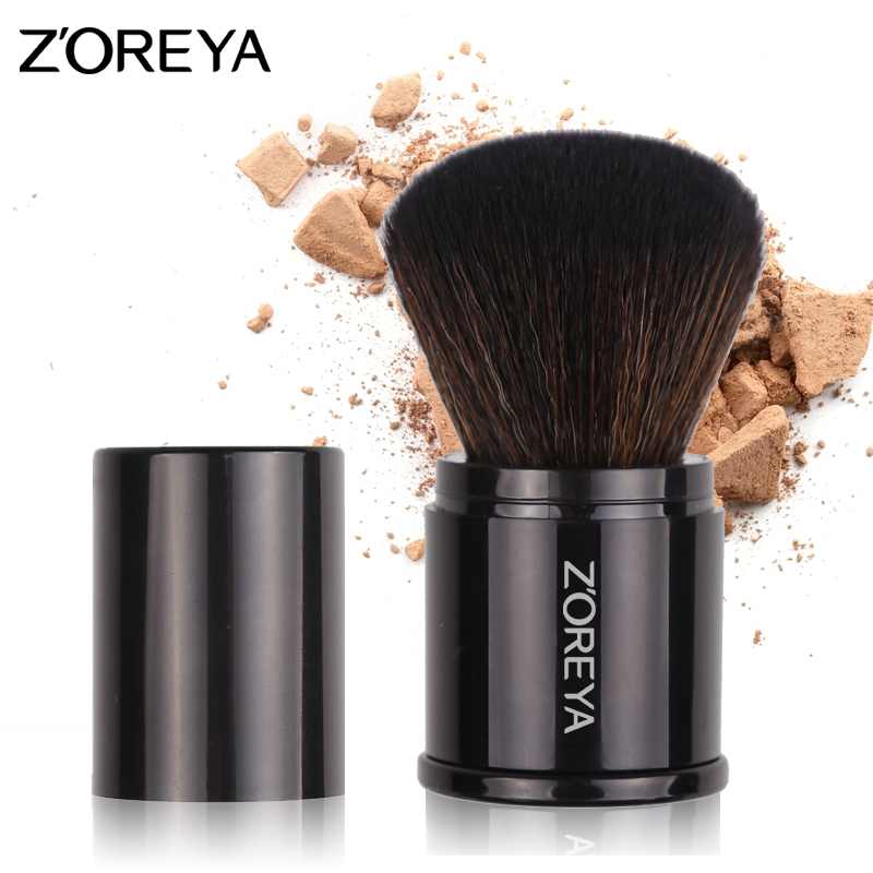 Zoreya Brand New arrive 1piece Retractable make up brushes professional  Makeup brushes set charpie bag cosmetics makeup Tool zoreya 18pcs makeup brushes professional