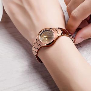 Image 5 - Civo 럭셔리 커플 시계 블랙 실버 전체 철강 방수 날짜 쿼츠 시계 남자 남자 여자 시계 연인 아내를위한 선물