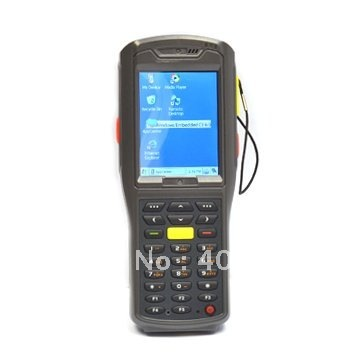 Handheld Mobile Computer with 1D/2D barcode scanning and RFID reader-writer+Free Shipping&Custom Logo&SDK