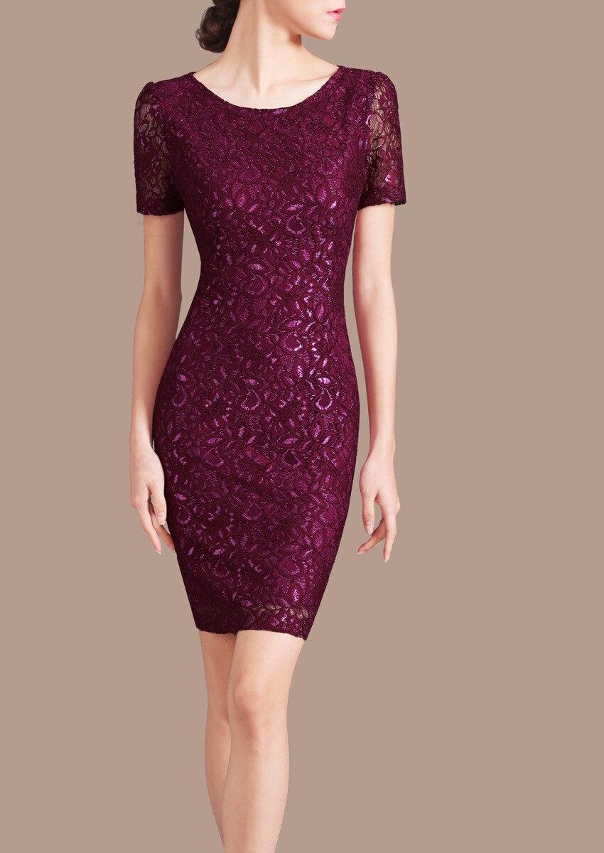 Femme Ol été grande taille solide manches courtes genou longueur crayon robes femme automne surdimensionné O cou couverture mince Maxi robe