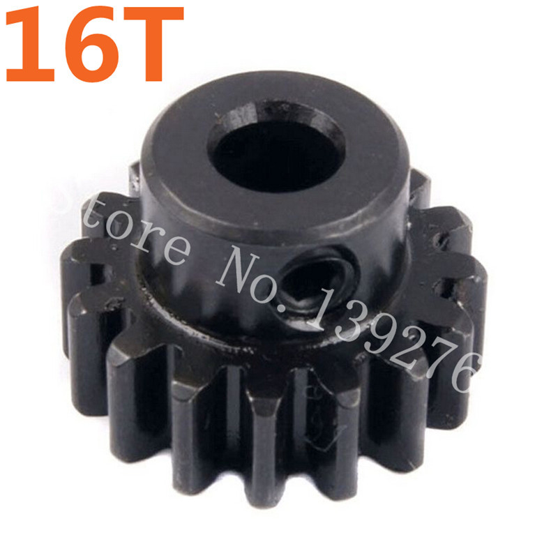 E98107 Motor Gear (16T) Aperture 5mm HSP Spare Parts Accessories For 1/8 Scale Model RC Car Nitro Power Off Road Buggy 4WD 94885 81039 hsp 1 8 spare parts metal clutch bell 14t accessories for rc model car nitro power off road buggy monster truck