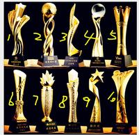 Crystal resin trophy customized medal decoration manufacturers new star metal trophy competition awards handicraft crafts statue