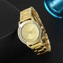 Relogio Feminino Top Brand Luxury Quartz Watches Women Stainless Steel Rhinestone Dress Watch Kobiet Zegarka