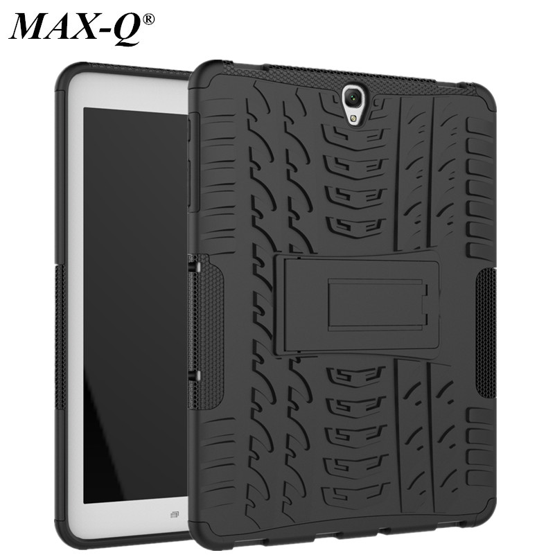 For Samsung Galaxy Tab S3 9.7 Case T820 T825 MAX-Q TPU Tire Pattern Shockproof Tablet Back Cases For Samsung Tab S3 9.7 Cover