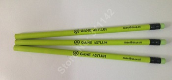 Good quality school pencil custom logo pencils eco color pencils Pantone color personalized