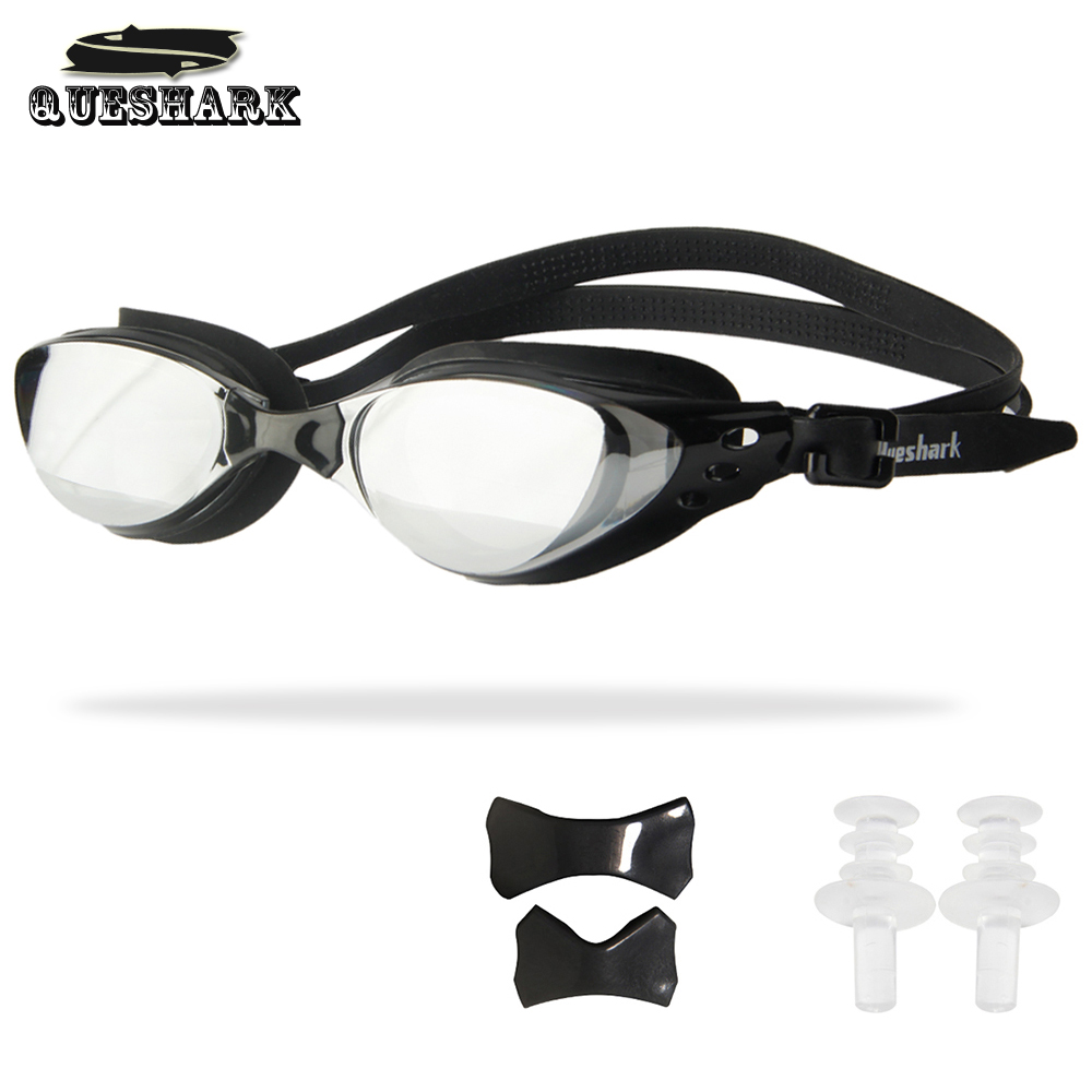 Men Women Swim Glasses Anti Fog UV Protection Swim Eyewear Professional Electroplate Waterproof Swimming Goggles