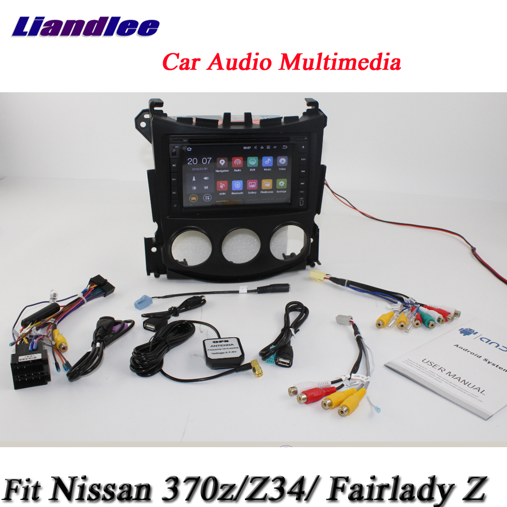 Liandlee Car Android System For Nissan 370z Fairlady Z Z34 Radio Stereo Wiring Cd Dvd Player Gps Navi Map Navigation Hd Screen Multimedia In