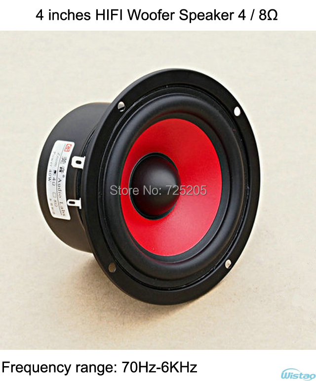Sub Speaker 8 Ohm Aliexpress.com : Buy 4 Inches Hifi Woofer Speaker 4ohms 8