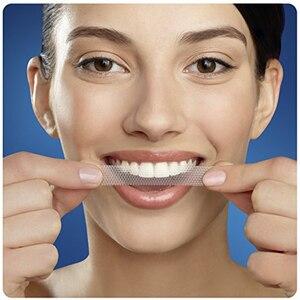 Image 5 - Bandes blanches en 3D, bandes de blanchiment des dents en 3D, avec une poignée de LUXE, effets professionnels, hygiène buccale, sourire parfait, 5/10/20 poches