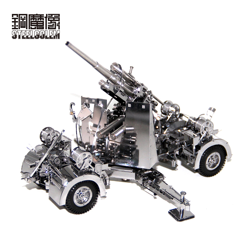 3D Metal Puzzle Germany 88 Air Defense Anti Tank Artillery DIY Jigsaw Adult Children Educational Toys Collection Christmas Gift hot sale 1000g dynamic amazing diy educational toys no mess indoor magic play sand children toys mars space sand
