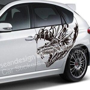 ¡Genial! Totem Dragon Z07 Auto pegatina de coche PVC