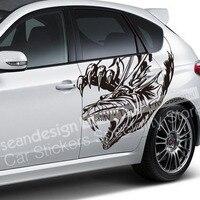 Cool! Totem Dragon Z07 Auto Car Sticker decal PVC