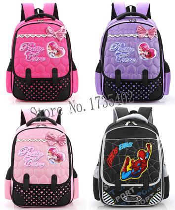 2015 new Fashion Unisex Orthopedic Backpack Children Schsool Bags ...