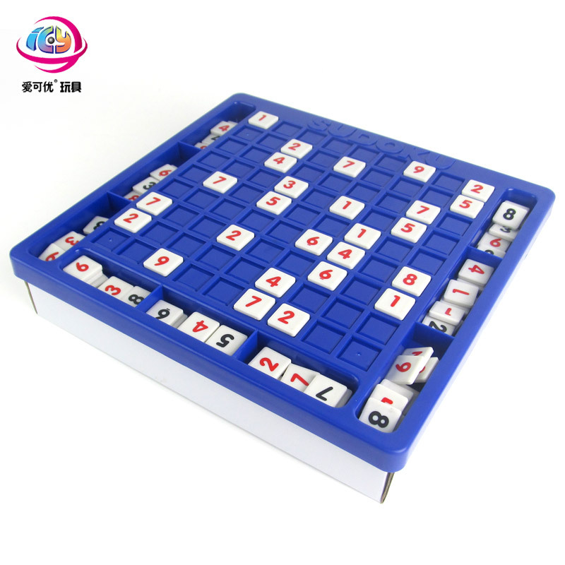 Funny childrens early childhood toys, Sudoku puzzles, Olympic math games, intelligence education toys, mental games ...