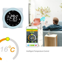 Wifi Thermostat Gas Boiler Heating Thermostat A Gas Boiler Convex Programmable Temperature Controller Alexa /Google Home Winter