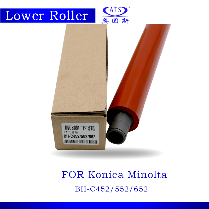1PCS BHC452 BHC552 BHC652 Original Lower Fuser Roller For Konica Minolta BH C452 C552 C652 Copier Parts Pressure Roller free shipping upper fuser roller heat roller used for minolta di550 di570 di470 di450 copier spare parts laser parts 1pcs lot