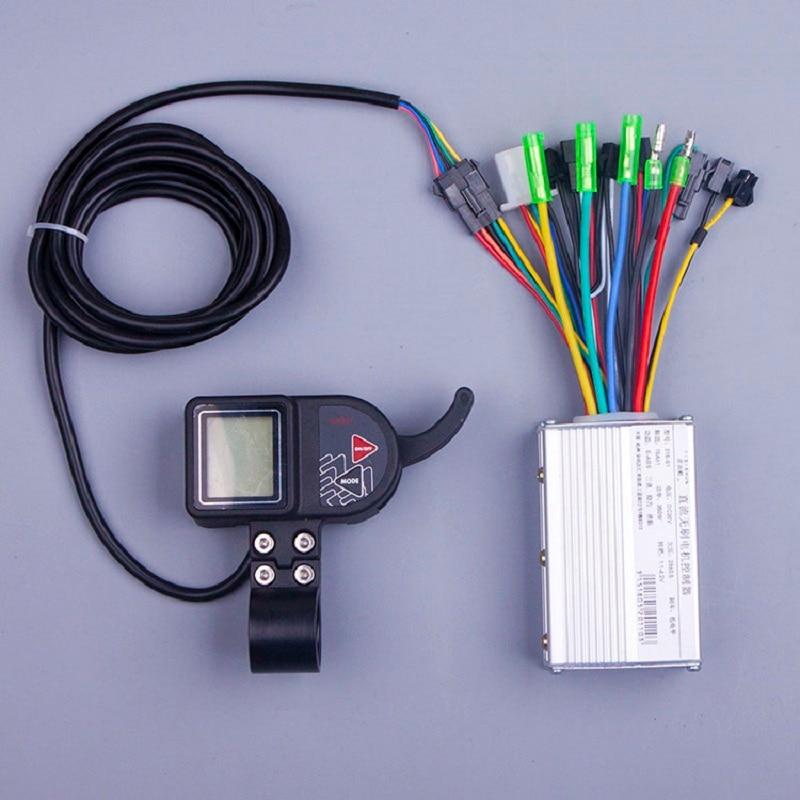 S880 e-scooter accessoires 250 W 350 W 24 V 36 V 48 V DC Mode vélo électrique contrôleur de moteur sans brosse avec LCD pour e-bike