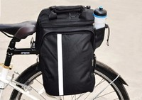 Russia Fast Shipping Black Color High Quality Cycling Bicycle Bag Bike Rear Seat Trunk Bag Bike