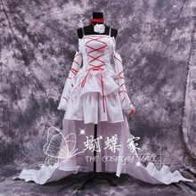 Anime Pandora Hearts Cosplay la of The Abyss Alice partido vestido blanco Vintage Lolita vestidos