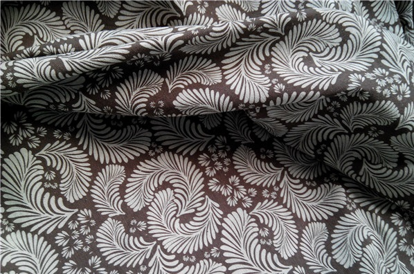 55 Linen And 45 Cotton Tulle Toile Fabric Feather Print For Canvas Curtain Sofa Diy Handmade Craft Etc In From Home Garden On Aliexpress