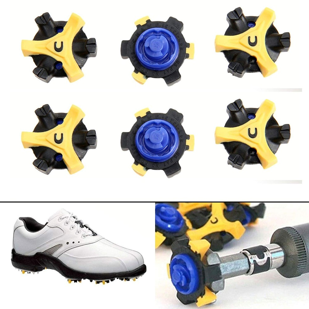 Fast Twist Q-Lok Golf Shoe Spikes Replacement Cleat