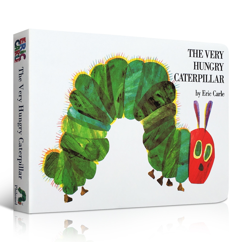 The Very Hungry Caterpillar :Educational Children English Picture Book For Baby And Children