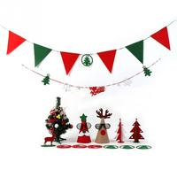 1 Set Christmas Tree Decorations for Home 2016 Hanging Ornaments Mini Artificial XMAS tree set Party Decor DIY Prop Suit navidad