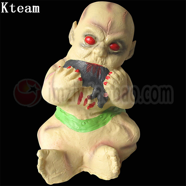 Halloween Zombie Baby Prop.Us 119 99 Scary Halloween Decoration Scary Bloody Prank Toy Ghost Zombie Baby House Hanging April Fools Day Cosplay Halloween Props Toys In Party