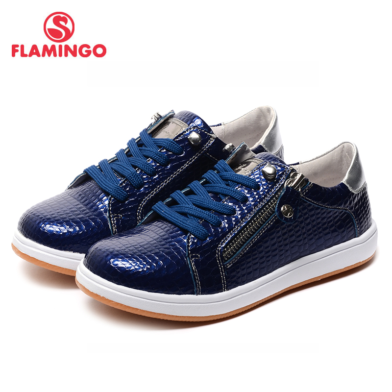 FLAMINGO 2017 New Arrival Spring & Autumn sneakers for boys Fashion High Quality children shoes 71P-BST-0209
