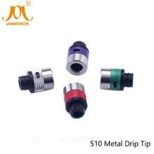 Electronic Cigarette Atomizer Drip Tips Subtank Atomizer Mouthpiece Aluminum Rubber Metal Drip Tips for All Atomizers Jomo-110