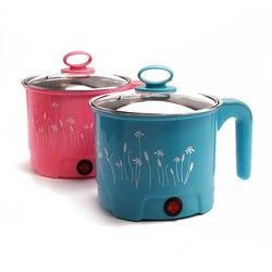 1,5 электрическая сковорода для приготовления лапши, рисоварка с теплоизоляцией, сковорода, контейнер для еды с бесплатными подарками