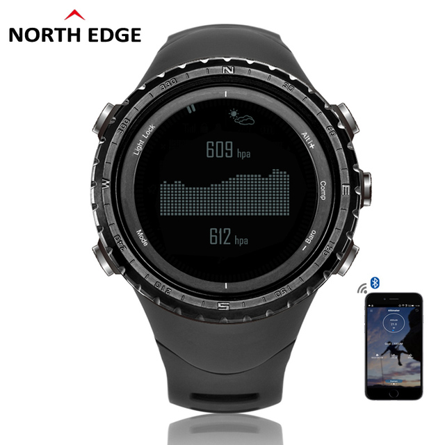 NorthEdge Men's sport Digital watch Hour Men Gift Military wristwatch Altitude Barometer Compass Thermometer Pedometer altimeter