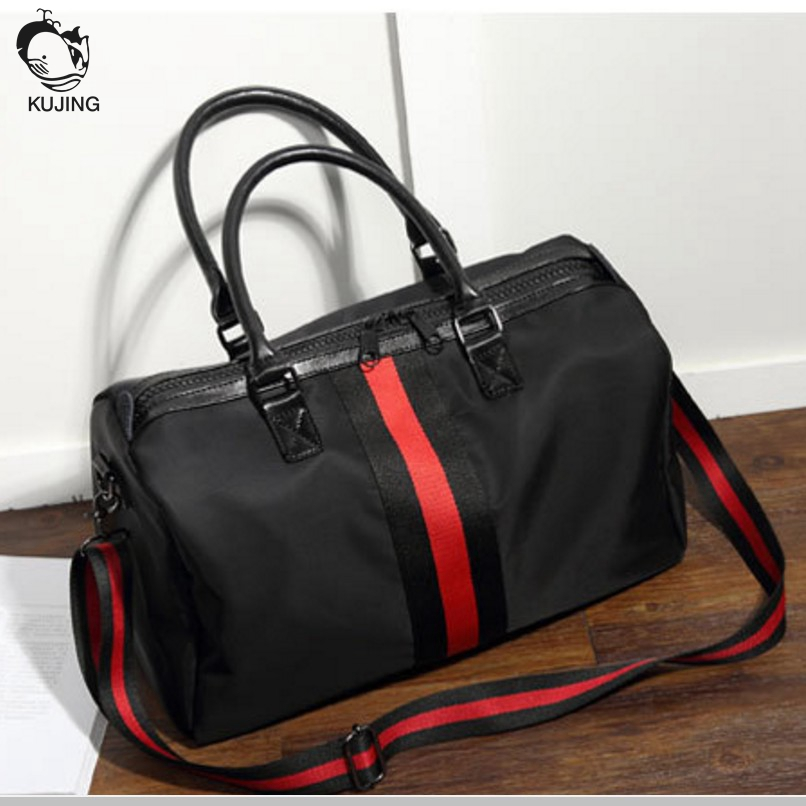 KUJING handbag quality high-capacity waterproof business  handbag men and women travel leisure shoulder Messenger bag high quality authentic famous polo golf double clothing bag men travel golf shoes bag custom handbag large capacity45 26 34 cm