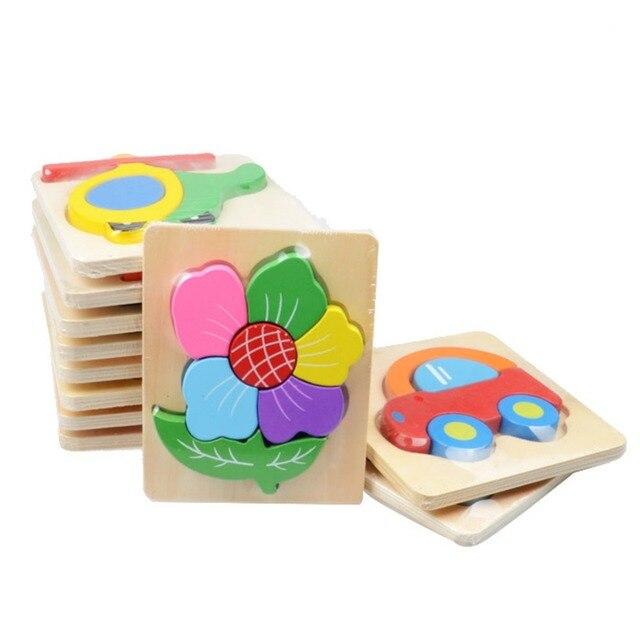 desarrollo animales nio beb juguetes educativos de madera d puzzle juguetes para nios de dibujos