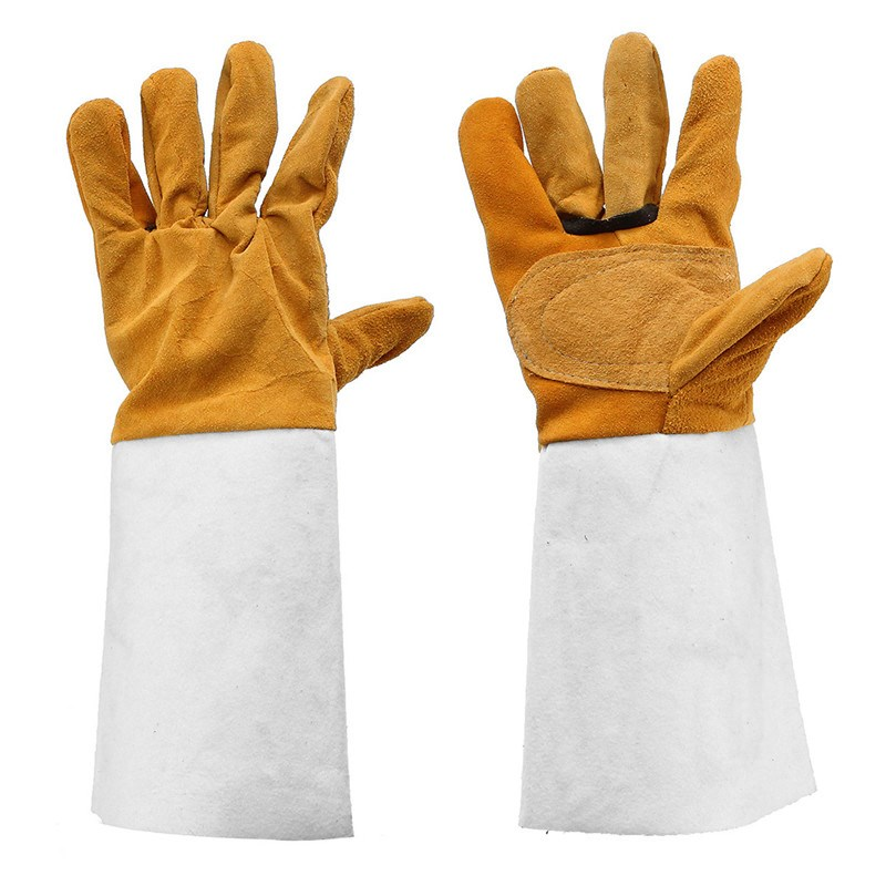Welding WELDERS Work Soft Cowhide Leather Plus Gloves welding welders work soft cowhide