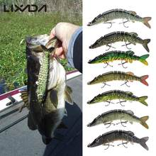 Lixada 12.5cm 20g Wobbler Fishing Lure Sea Pike Fish Lure Swimbait Crankbait Isca Artificial Bait With Hook Fishing Tackle Pesca(China)