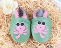 2016 100% soft leather baby shoes green shoes pink cartoon dragonfly toddler baby shoes melee