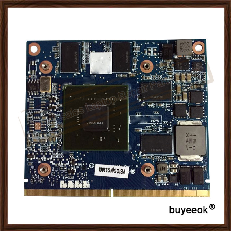 Original Used 8540W 8540P 1G N10P-GLM-A3 595821-001 FX880M 5100M Graphic Card For HP 8540W 8540P Display Video Card GPU