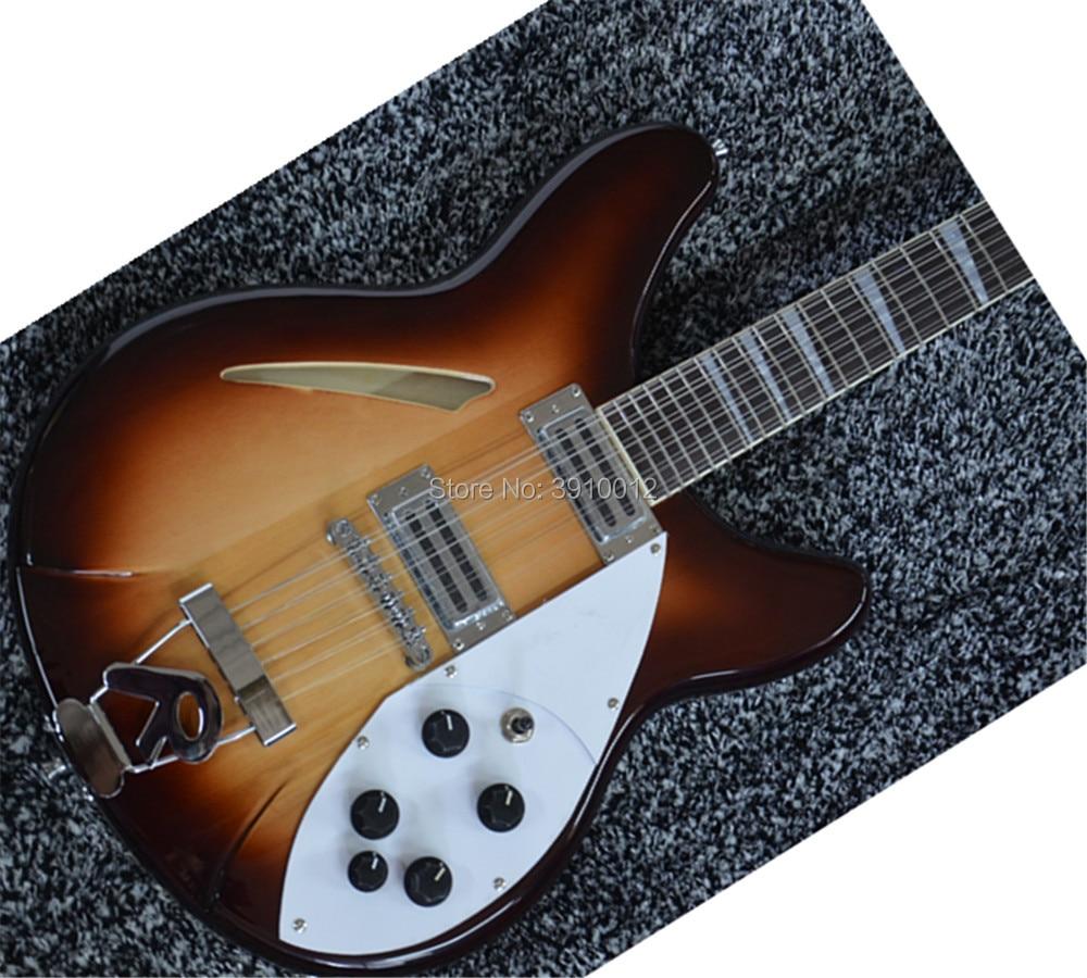 12 strings ricken 360 electric jazz guitar semi hollow 12 string ricken 330 jazz guitar in. Black Bedroom Furniture Sets. Home Design Ideas