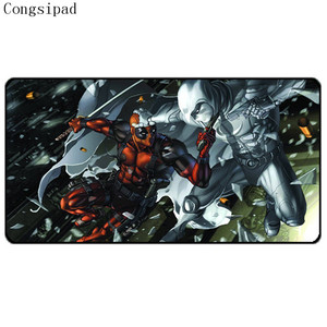 Top Selling Congsipad High Quality Hot Selling Movie Mousepad Deadpoll Best Rubber Anti Slip Gaming Mouse Pad Durable Desktop Mousepad Diy — nvrelitisrs