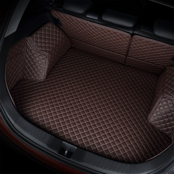 kalaisike custom car trunk mat for Hyundai All Models solaris tucson 2016 sonata ix25 i30 getz Elantra Accent Verna Santafe