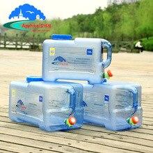 Outdoor5L 8L12L15L18L ведро для воды Пищевой ПК резервуар для воды на открытом воздухе походные аксессуары для кемпинга контейнер для воды с краном